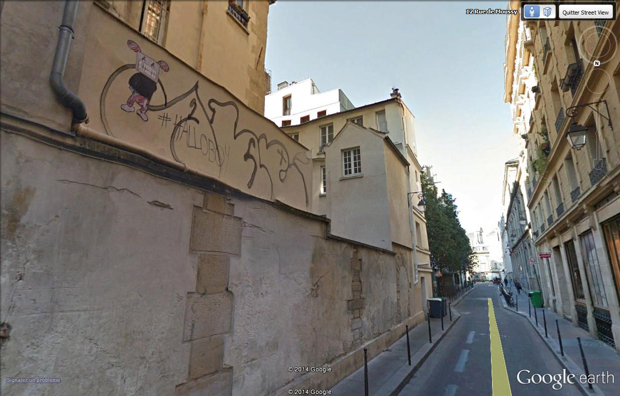 STREET VIEW : street art, grafs, tags et collages - Page 4 Rue_de15