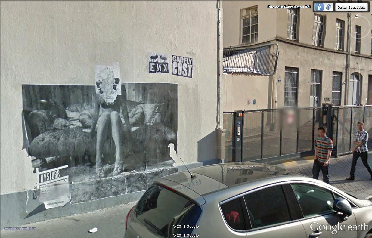 STREET VIEW : street art, grafs, tags et collages - Page 4 Rue_de17