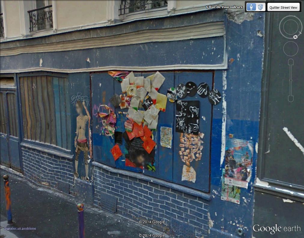 STREET VIEW : street art, grafs, tags et collages - Page 3 Rue_de18