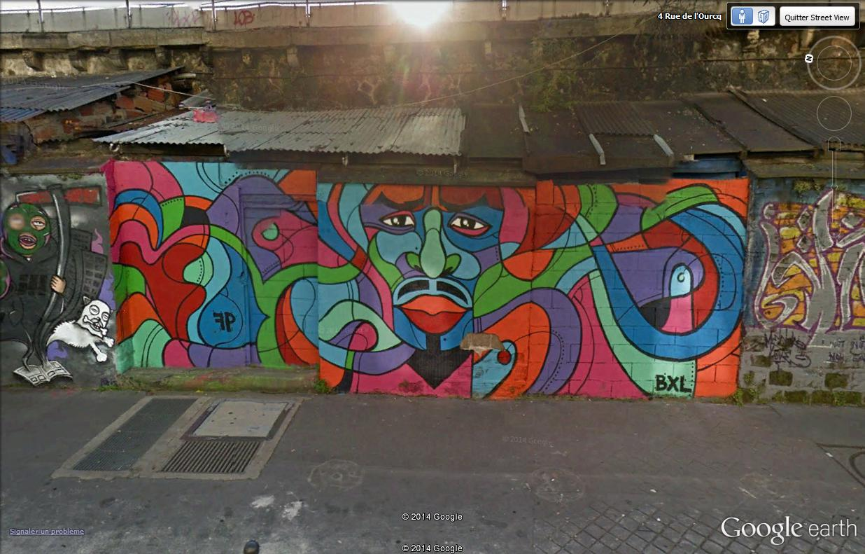 STREET VIEW : street art, grafs, tags et collages Rue_de19