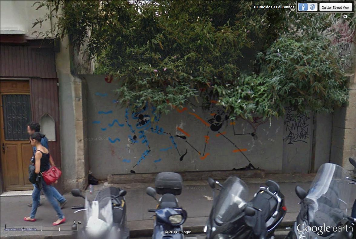 STREET VIEW : street art, grafs, tags et collages - Page 3 Rue_de20