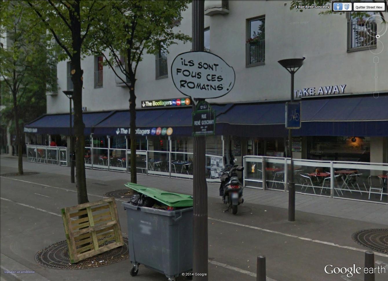 STREET VIEW : Un vrai festival de bulles dans la rue René Goscinny, à Paris Rue_go10