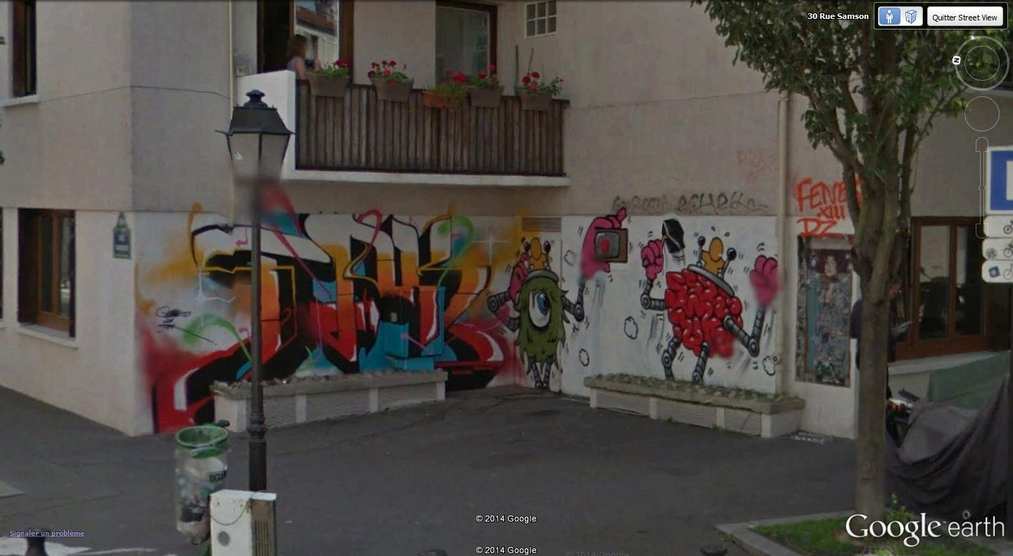 STREET VIEW : street art, grafs, tags et collages - Page 3 Rue_sa10