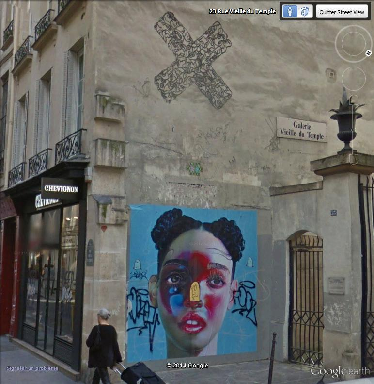 STREET VIEW : street art, grafs, tags et collages Rue_vi10