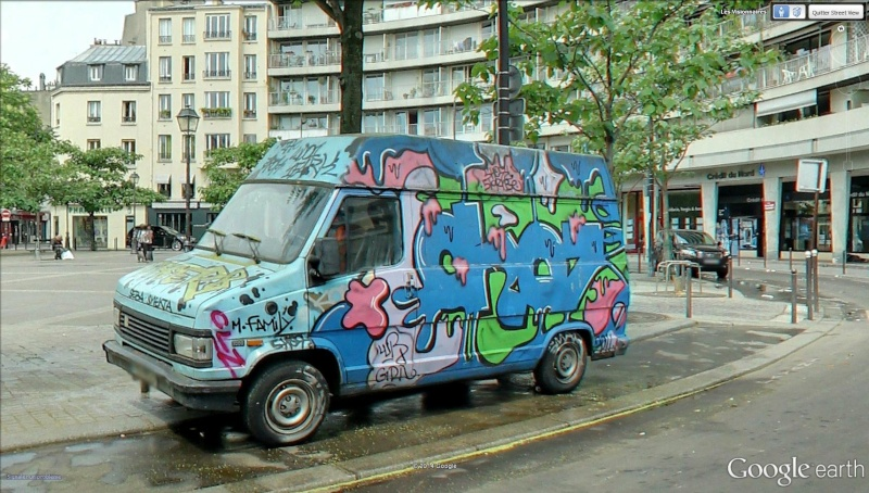 STREET VIEW : street art, grafs, tags et collages Scooby10