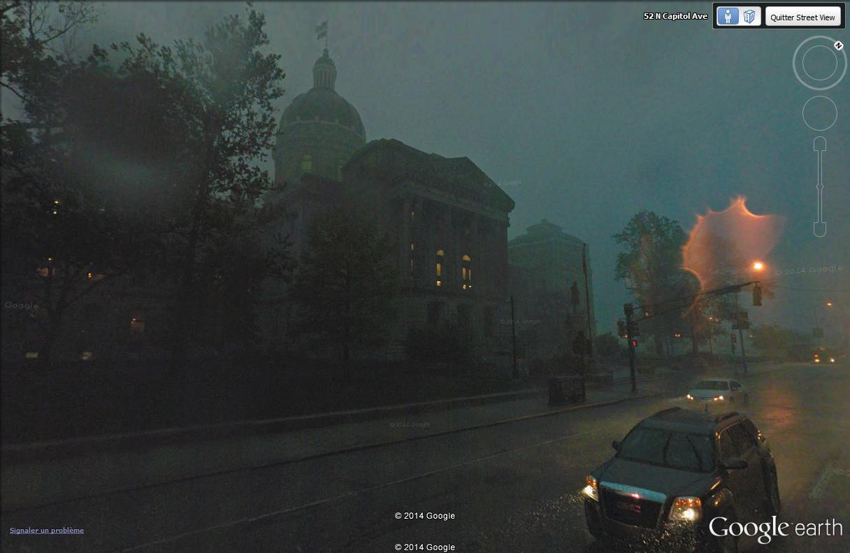 C'est beau Street View la nuit Soirye10
