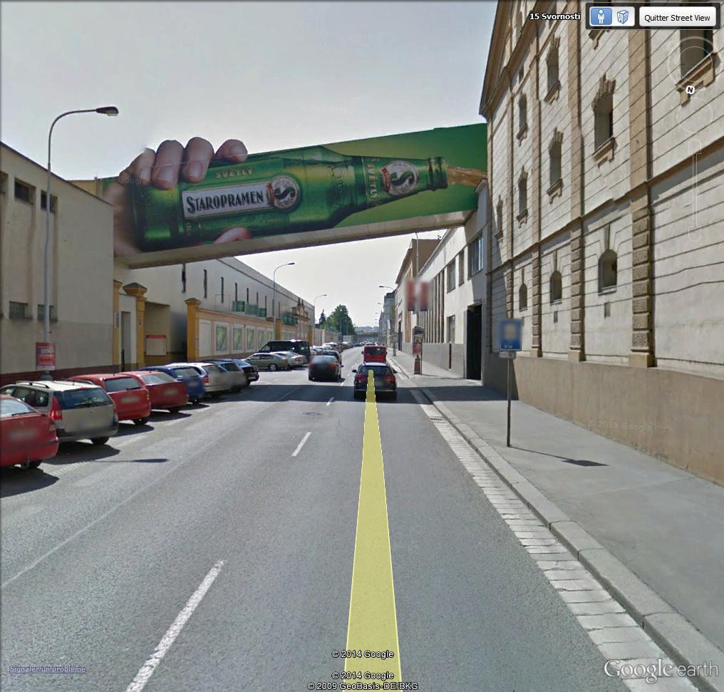 STREET VIEW: Pub Alcool - Prague, République Tchèque Starop10