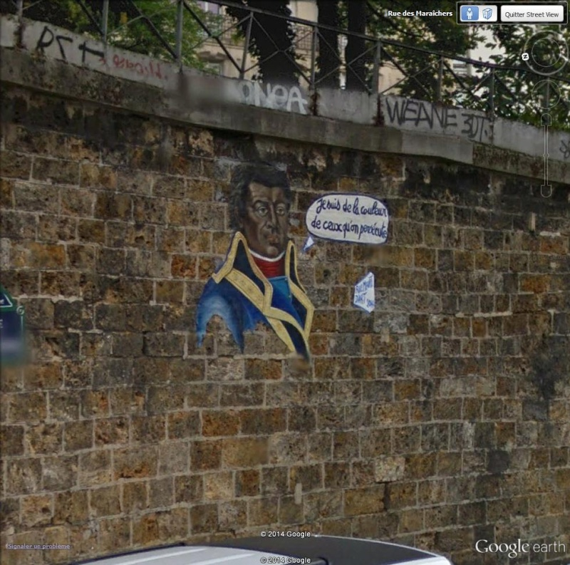 STREET VIEW : street art, grafs, tags et collages Toussa10