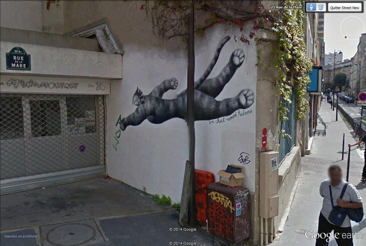 STREET VIEW : street art, grafs, tags et collages - Page 4 Un_cha10