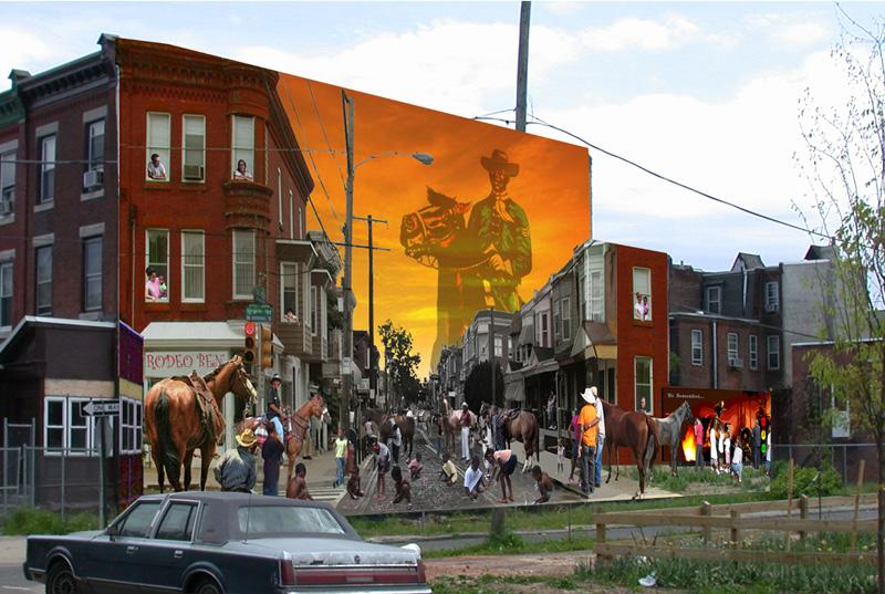 STREETVIEW : les fresques murales de Philadelphie  - Page 14 Urban_10