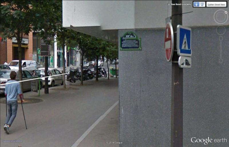 STREET VIEW : Un vrai festival de bulles dans la rue René Goscinny, à Paris Xiii10