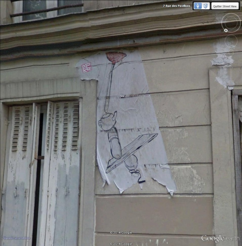 STREET VIEW : street art, grafs, tags et collages Yquili10