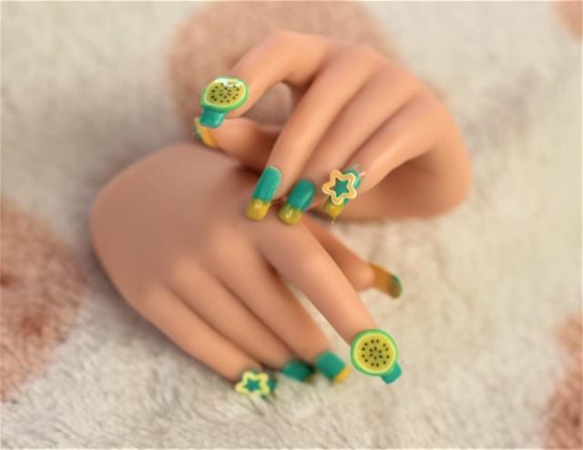 [Custom] Faux ongles  Summer10