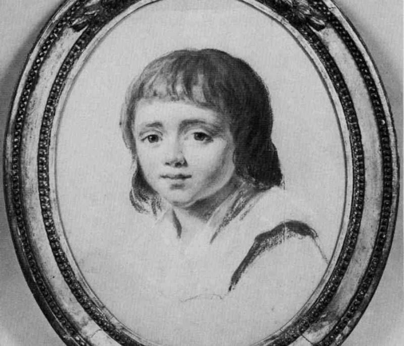 Les portraits de Louis XVII, prisonnier au Temple - Page 2 Louis110