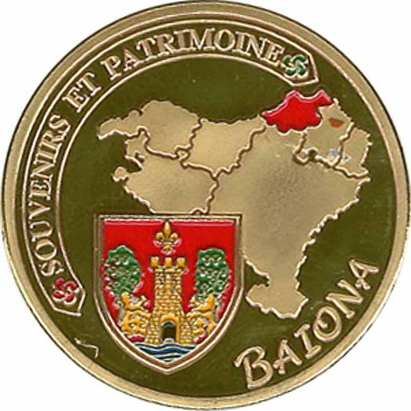 Souvenirs et Patrimoine 34mm  Bayonn10