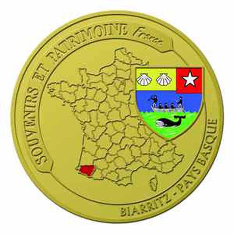 Souvenirs et Patrimoine 34mm  Biarri11