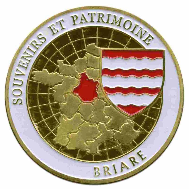 Souvenirs et Patrimoine 40mm  Briare11