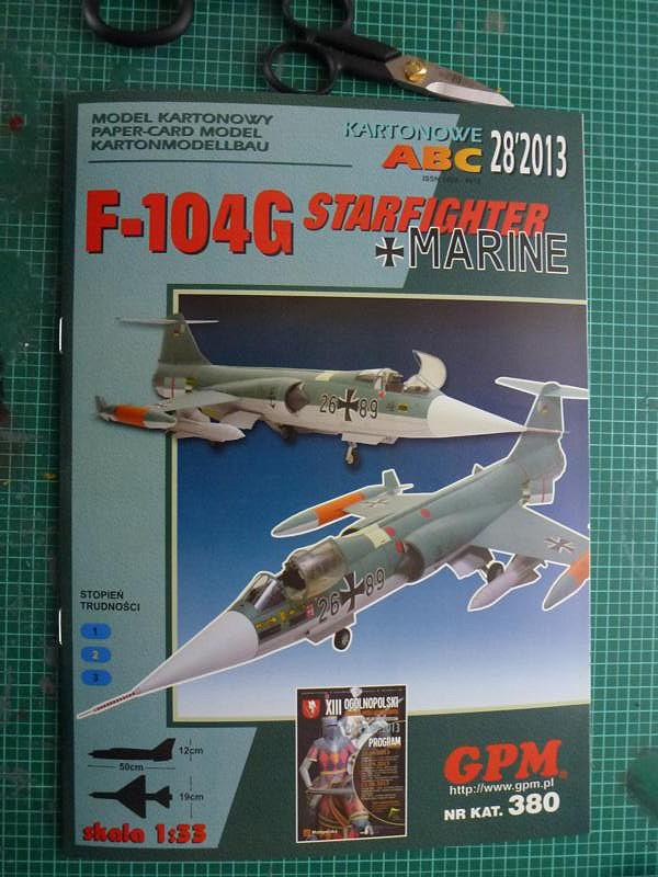 F-104 G,Marine von GPM 1:33 gebaut von Jürgen Düll P1040010