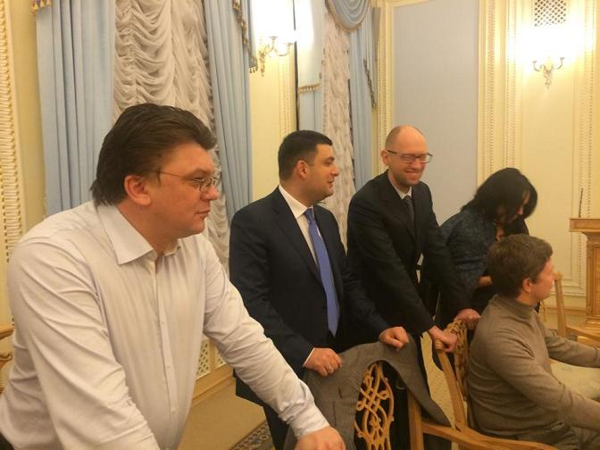Начало новой истории украинского  государства – Боже Украину храни! Koalic10
