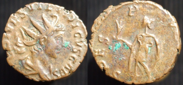 Pièce n° 26 - Antoninien de Tetricus II Tetric11