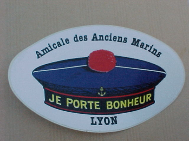 [ Logos - Tapes - Insignes ] AUTOCOLLANTS DE LA MARINE 0110