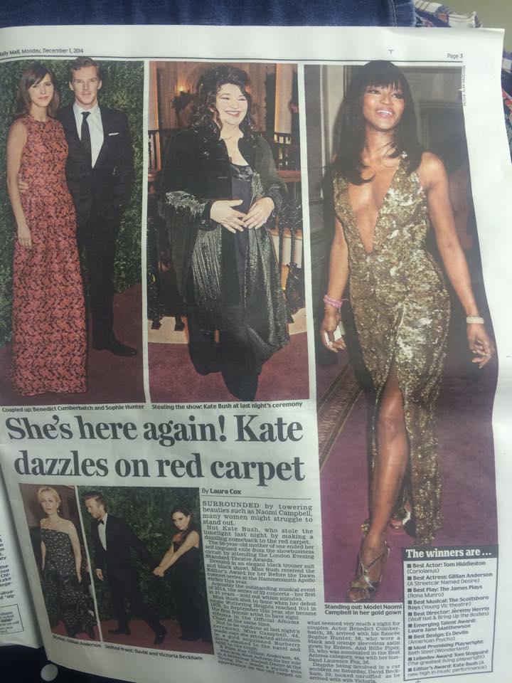 Kate récompensée pour Before The Dawn 15076110
