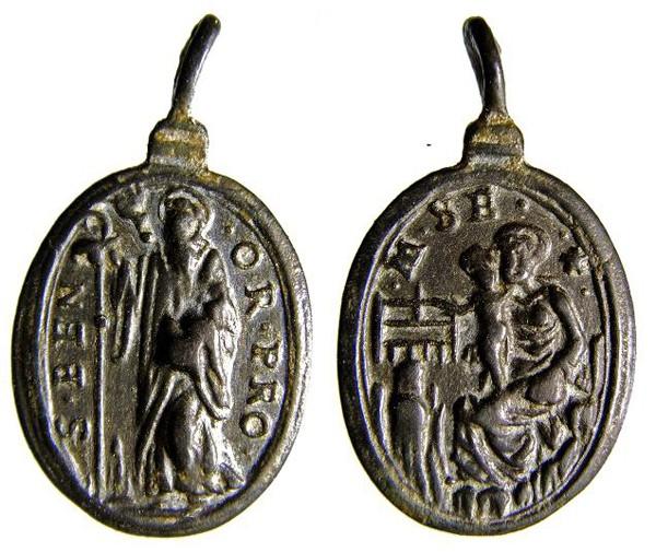 Médaille ND-de-Montserrat - fin XVII/début XVIIIème B025_d10