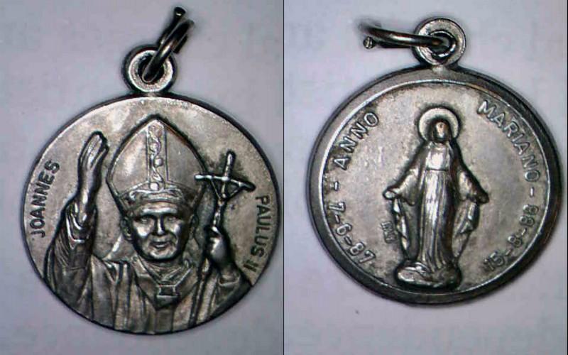 Papa  Juan Pablo II-año Mariano 1988 Image112