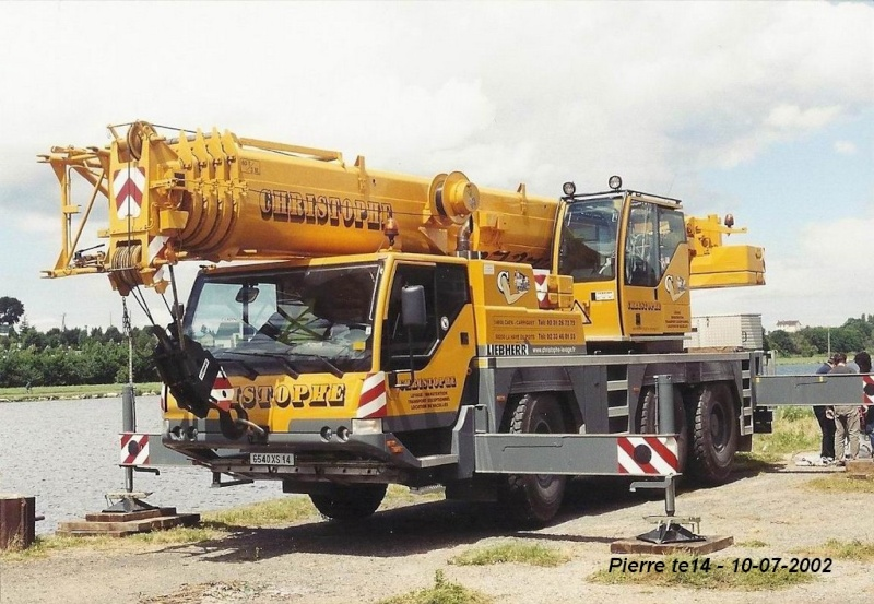 Les grues de CHRISTOPHE levage (France) - Page 3 2002-011