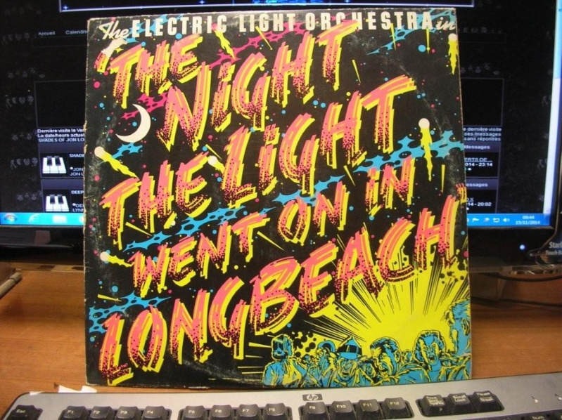 "ELECTRIC LIGHT ORCHESTRA ""The night the light went on in Long Beach"" 1974 Dscn6010"