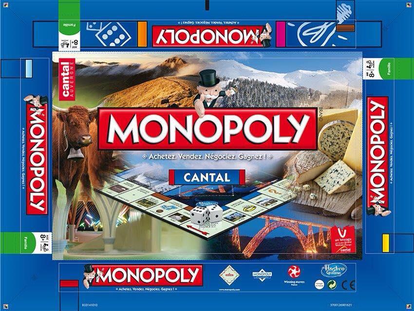 Une édition spécial Cantal pour Monopoly 10406510