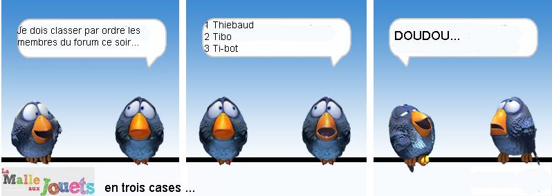 [la Guerre des clans] Épreuve 5 : Toys un translation : Résultat Tibo10