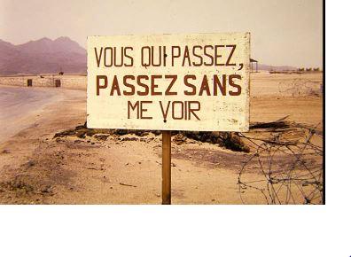 diaporama sur les essais nucléaires au Sahara In110