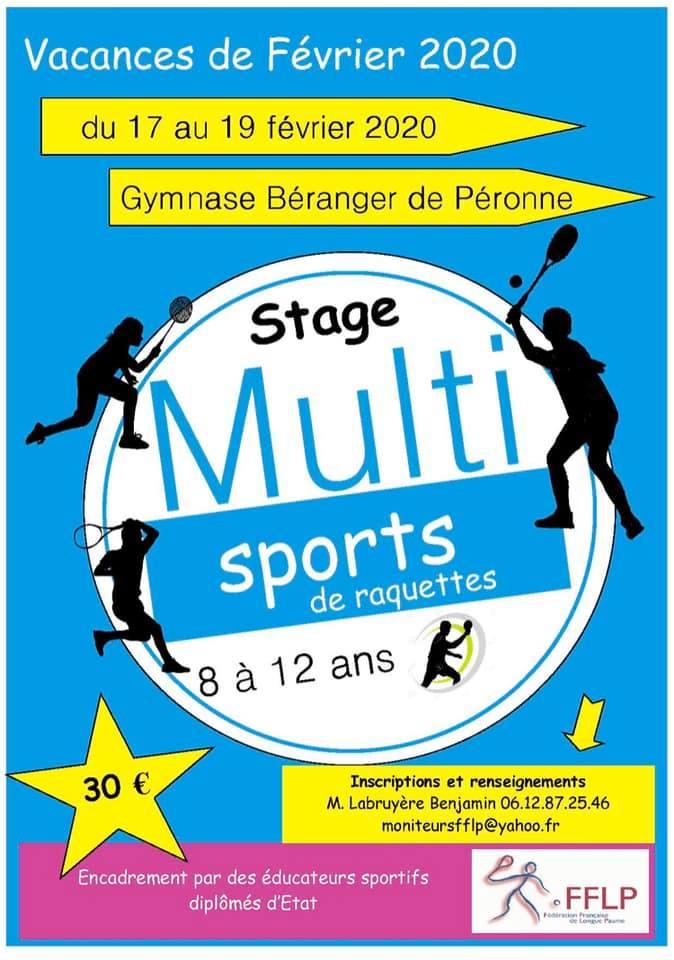 Stage du 17 au 19 févier (8/12ans) 82105310
