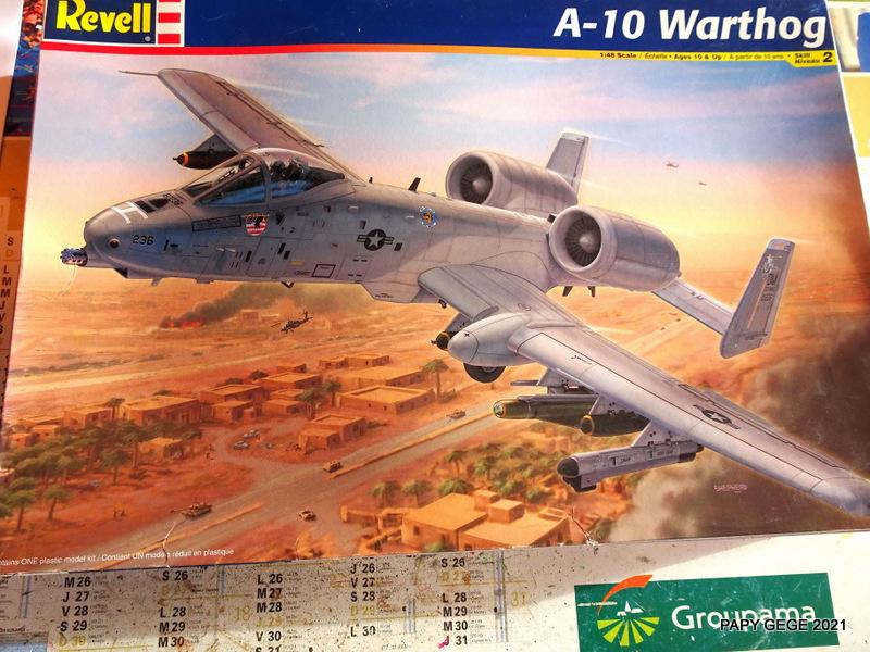 A 10 WARTHOG au 1/48 ( REVELL) A10-0110