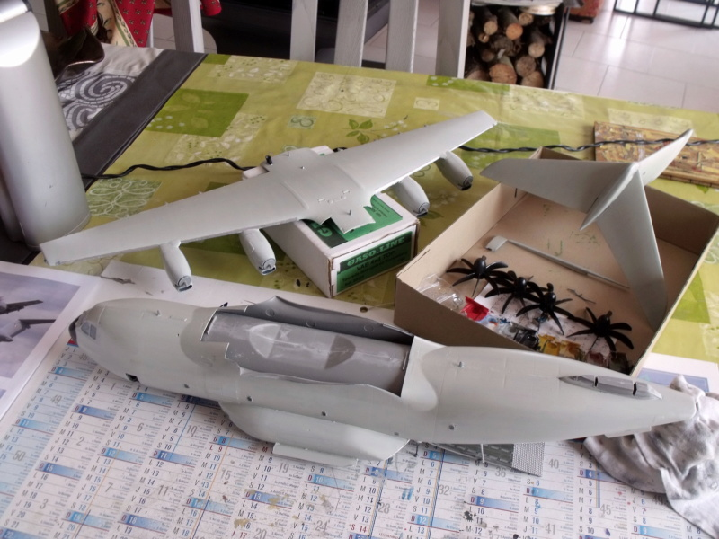 [ Revell ] A 400 M Grizzly au 1/72 - Page 3 A400m133