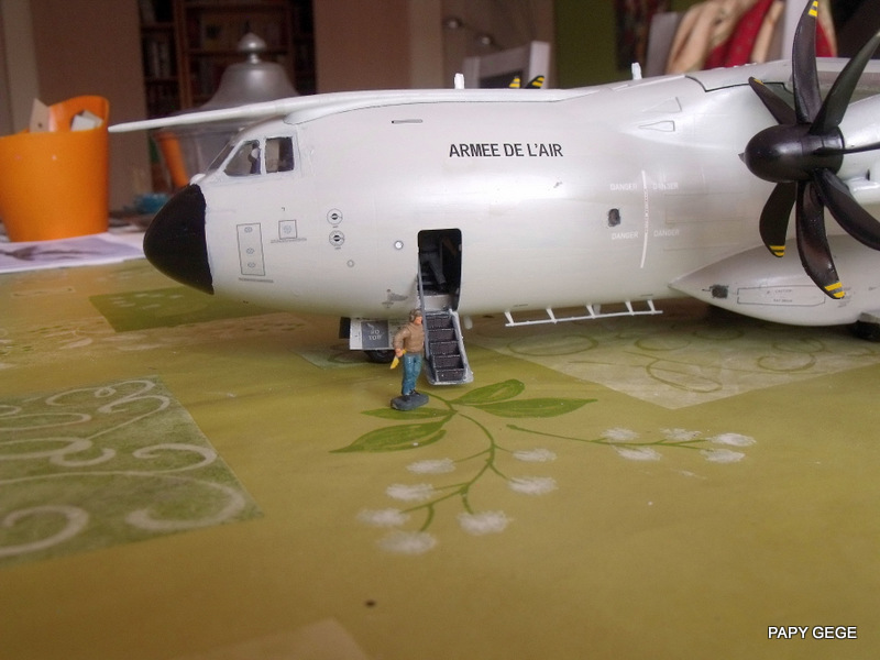 [ Revell ] A 400 M Grizzly au 1/72 - Page 3 A400m139