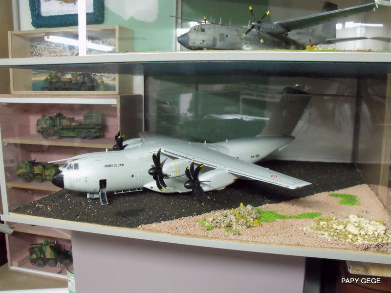 [ Revell ] A 400 M Grizzly au 1/72 - Page 3 A400m153