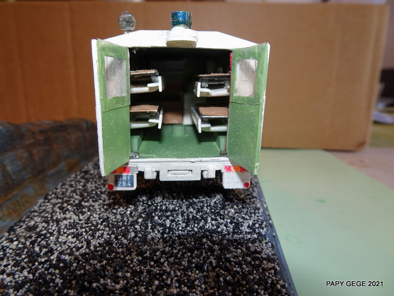 ACMAT VLRA TPK 4.25 AMBULANCE base Solido 1/50 Actola45