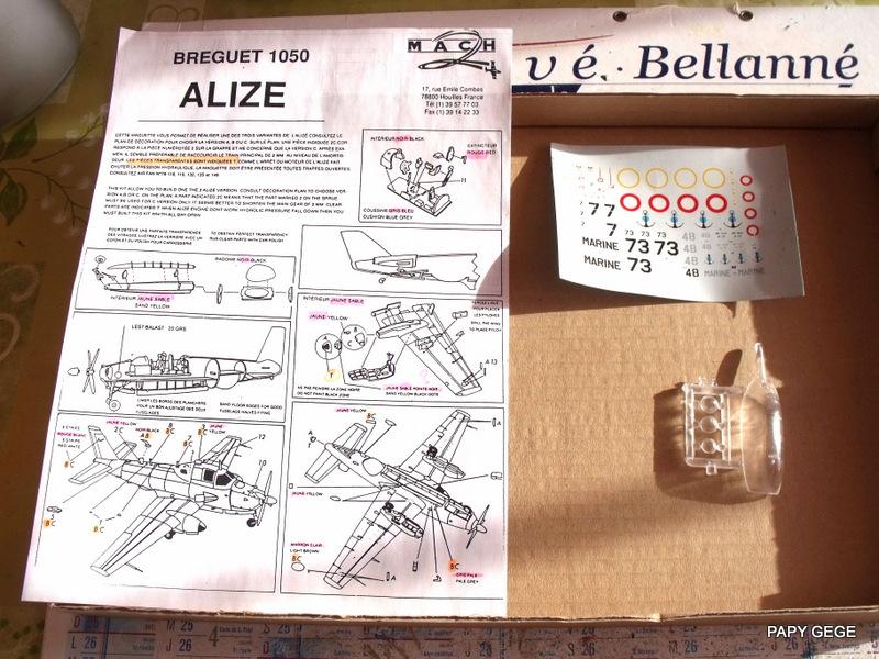 BREGUET 1050 ALIZE  AU 1/72  Alize_11