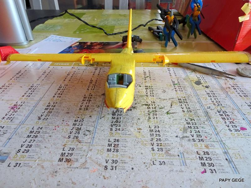 [ HELLER ] CANADAIR CL 415 au 1/72 Cancl436