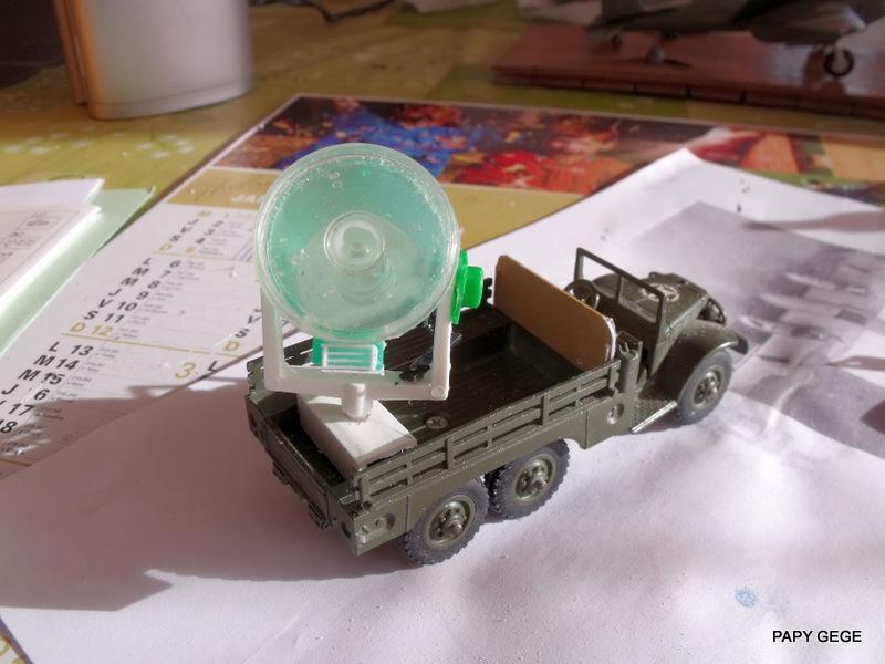 DODGE 6x6 WC 63 Projecteur base Solido Dod_pr14