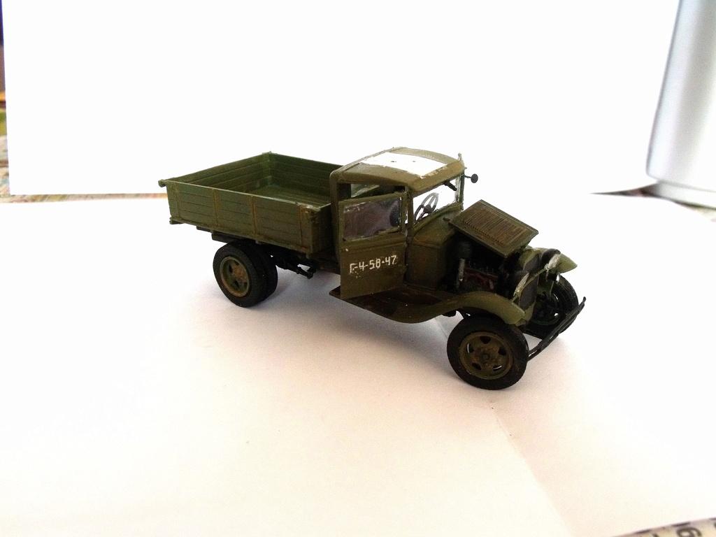 Truck GAZ MM au 1/48 de chez UM Gaz_mm11