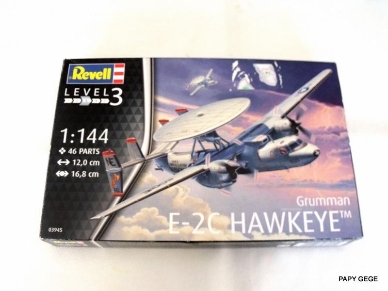 Grumman E-2C HAWKEYE au 1/144 REVELL Grumma10