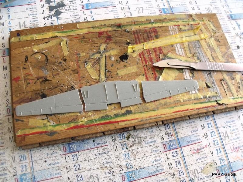 Grumman E-2C HAWKEYE au 1/144 REVELL Grumma15
