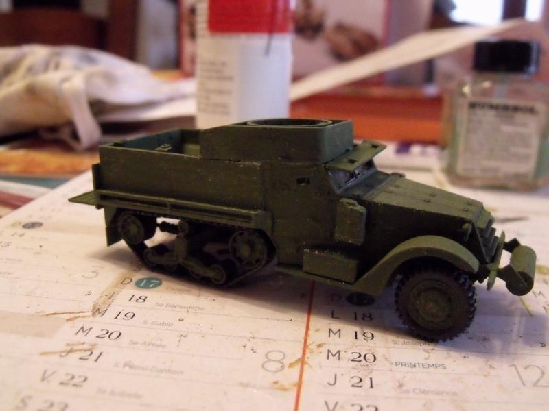 ACADEMY M3 HALFTRACK et 1/4 ton amphibian vehicule 1/72  Half_110