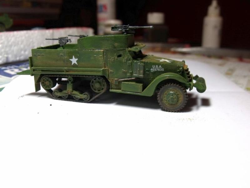 ACADEMY M3 HALFTRACK et 1/4 ton amphibian vehicule 1/72  Half_212