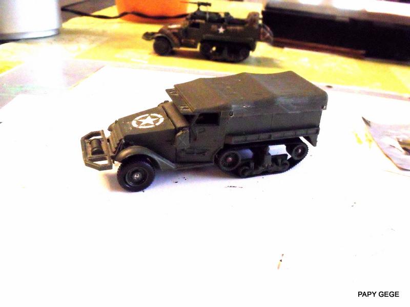 HALF-TRACK M3 TRANSPORT DE TROUPE au 1/50 + M3 AMBULANCE Half_s10