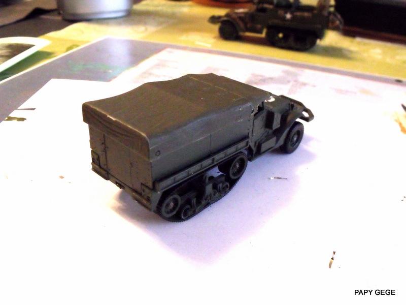 HALF-TRACK M3 TRANSPORT DE TROUPE au 1/50 + M3 AMBULANCE Half_s11