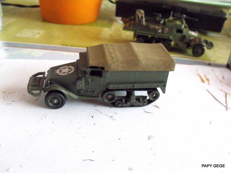 HALF-TRACK M3 TRANSPORT DE TROUPE au 1/50 + M3 AMBULANCE Half_s12